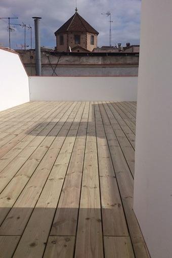 Wunderschöne Dachterrasse