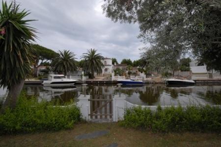 Schöner Blick auf den Kanal